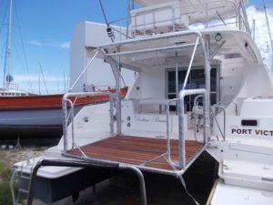 Boat Diving Platform